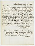 Correspondence from E.B. Lovejoy, August 01, 1862