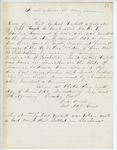 Correspondence from E.B. Lovejoy, June 28, 1862 by J. R. Freese