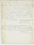 Correspondence from E.B. Lovejoy, August 09, 1862
