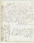 Correspondence from E.B. Lovejoy, August 12, 1862