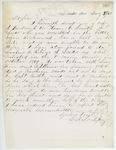 Correspondence from E.B. Lovejoy, August 05, 1862
