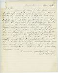 Correspondence from E.B. Lovejoy, August 11, 1862