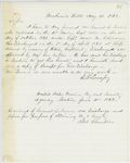 Correspondence from E.B. Lovejoy, August 13, 1862
