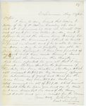 Correspondence from E.B. Lovejoy, August 23, 1862