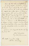 Correspondence from J. W. Gardiner, July 22, 1862 by J. W. Gardiner
