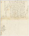 Correspondence from T. M. Bradbury, August 19, 1862 by T. M. Bradbury