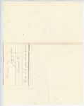 Correspondence from H. Cousens to Governor Washburn, July 29, 1862 by H. Cousens