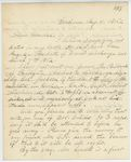 Correspondence from H. Cousens, August 04, 1862