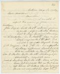 Correspondence from H. Cousens to General Hodsdon, August 06, 1862