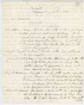 Correspondence from H. Cousens to General Hodsdon, August 12, 1862 by H. Cousens