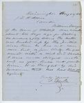 Correspondence from J. Blake to General Hodsdon, August 22, 1862