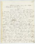 Correspondence from J. Blake to General Hodsdon, August 20, 1862