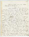 Correspondence from J. Blake to General Hodsdon, August 20, 1862