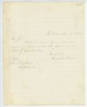 Correspondence to General Hodsdon from A. Stevens, August 16, 1862