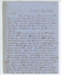 Correspondence to General Hodsdon from A. Stevens, August 19, 1862