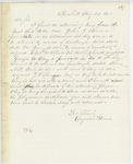 Correspondence to General Hodsdon from A. Stevens, August 23, 1862