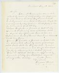 Correspondence from A. Stevens, August 30, 1862