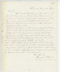 Correspondence from A. Stevens, August 22, 1862