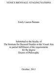 Venice Biennale: Staging Nations by Emily Lauren Putnam
