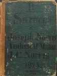 Surveys of Joseph Norris, Andrew McMillan, & J.C. Norris, Book B, 1825