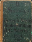 Surveys of Joseph Norris, Andrew McMillan, & J.C. Norris, Book B, 1825 by Joseph Norris, Andrew McMillan, and Joseph C. Norris