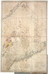 Map of the State of Maine used by the Board of Commissioners, Moses Greenleaf Esq. surveyor by Moses Greenleaf and Board of Commissioners