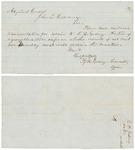 Letter from Richard H. Goding to John Hodsdon; undated by Richard H. Goding
