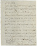 Letter from Paul Martin regarding concern for his son Christopher B. Martin, August 31, 1861