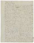 Letter from Christopher B. Martin regarding his discharge due to youth, August 31, 1861