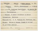 Alien Registration Card- Terhardt, Helmut Joseph Edward (South Portland, Cumberland County)