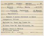 Alien Registration Card- Von Lucken, Wilhelm H. (Portland, Cumberland County)