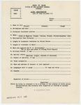 Alien Registration form (draft)
