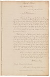 Proclamation stating that Maine has been admitted to the Union by William King