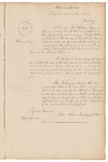 Appointment of Prentiss Mellen as Chief Justice of the Supreme Judicial Court by William King