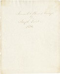 Joseph Treat Journal