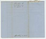1852 Annual Returns