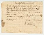 John Tinkhorn Certificate on Wheat