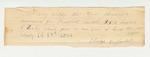 Eldridge Sawtelle Certificate on Barley of Bradford Sawtelle