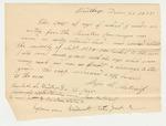 Statement of Maj. H. Metcalf on Rye