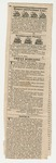 Newspaper Clipping of Penobscot Agricultural Society Cattle Show and Fair