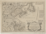 BMC 06--Part of North America containing Canada, the North parts of New England and New York; with Nova Scotia and New found Land; 1759