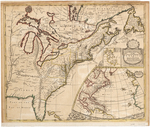 BMC 10--A New Map of the English Empire in America [...], 1719
