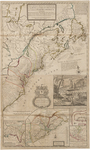 BMC 12--A new and exact map of the dominions of the King of Great Britain on ye continent of North America, containing Newfoundland, New Scotland, New England, New York, New Jersey, Pensilvania, Maryland, Virginia and Carolina. 1731