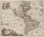 BMC 25--Novissima et accuratissima totius Americae descriptio, circa 1680