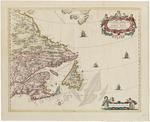 Extrema Americae Versus Boream, ubi Terra Nova Nova Francia, Adjacentiag