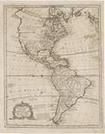 Nuova ed esatta Carta Della America Ricavata dale Mappe, e carte piu approvate