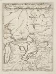 BMC 76--Carta Rappresentante i Cinque Laghi del Canada, 1763