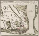 BMC 79A--Plan de la Ville de Quebec, circa 1764