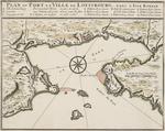BMC 79B--Plan du Port et Ville de Louisbourg, dans l'Isle Royale, circa 1744