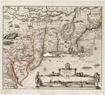 BMC 15--Novi Belgii Novaeque Angliae Nec Non Pennsylvaniae et Partis Virginiae Tabula multis in locis emendata . . .; circa 1684